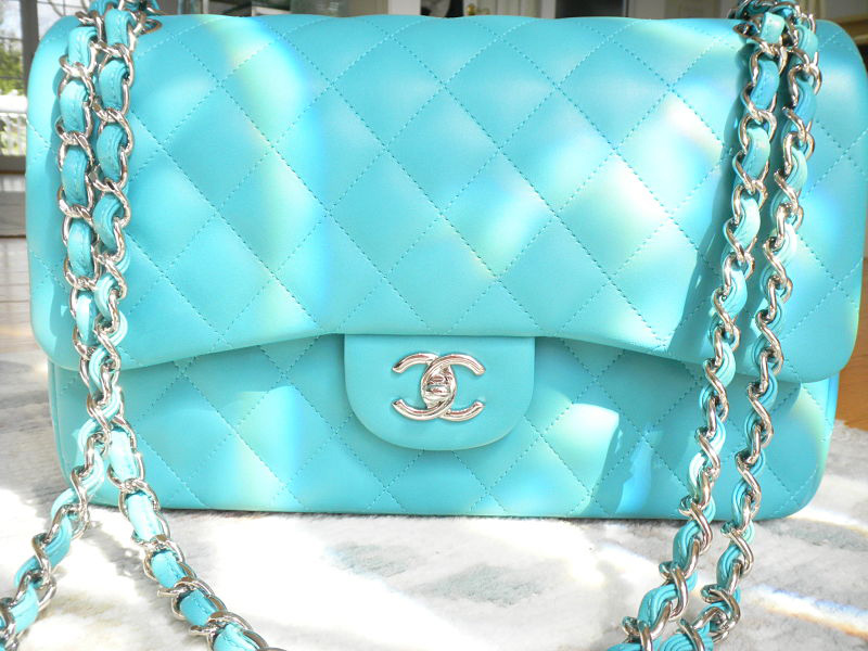 Chanel Classic Flap Turquoise
