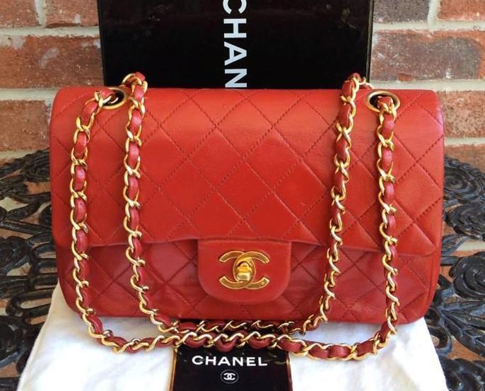 Chanel Vintage Classic Flap Bag