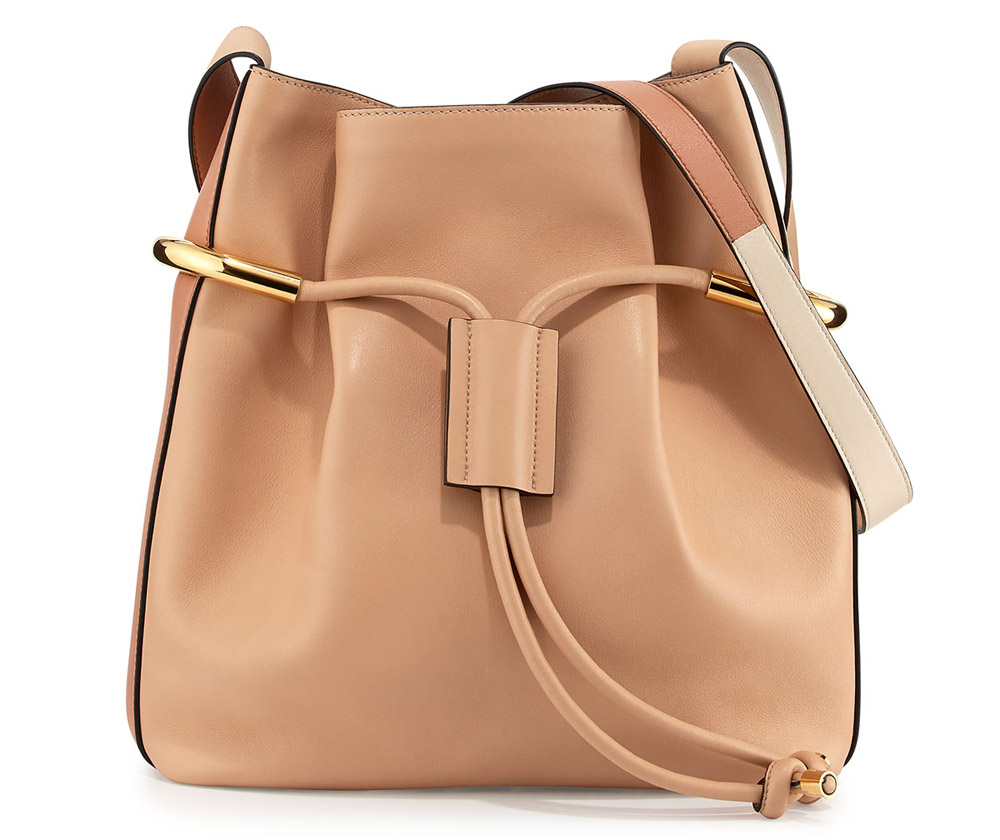 Chloe Emma Drawstring Shoulder Bag