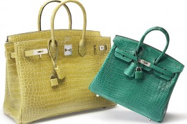 Shop Luxury Bags in Fall Colors at Christie's First New York Accessories Auction