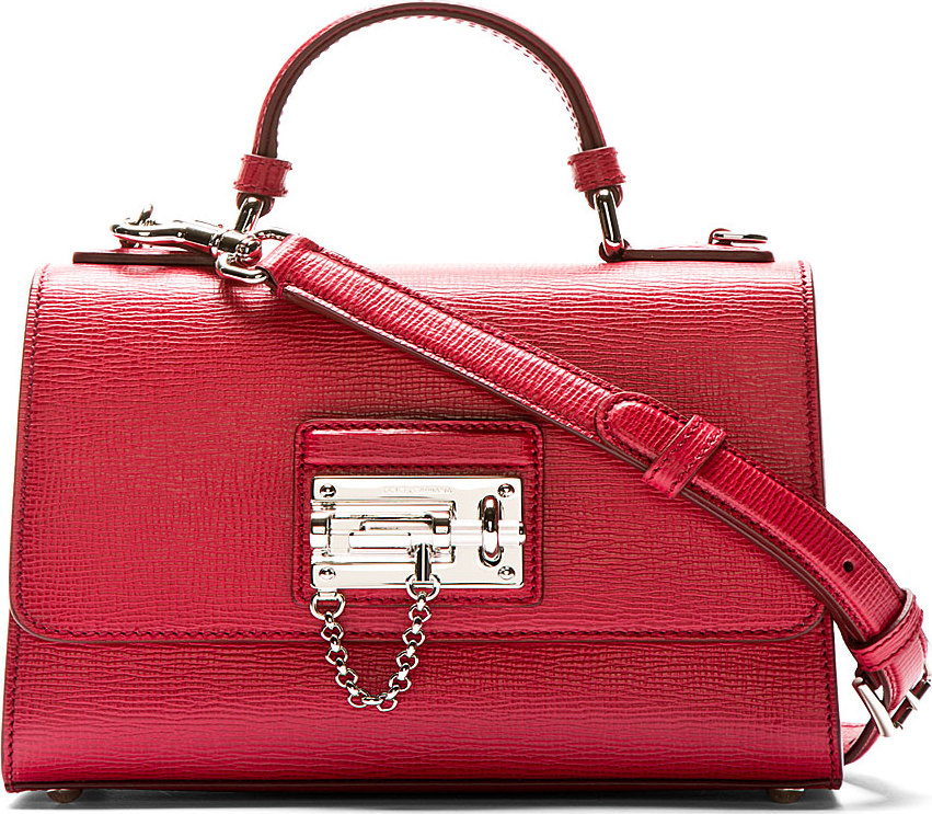 red d&g purse