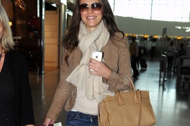 Elizabeth Hurley Saint Laurent Sac de Jour Bag