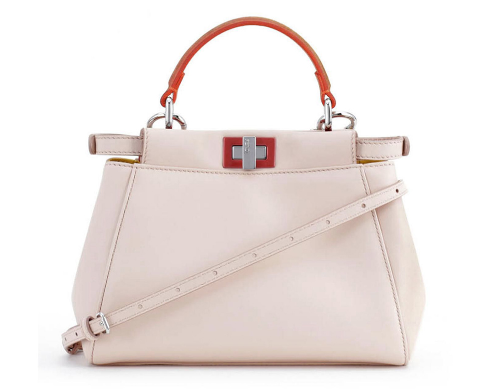 Fendi Multitone Peekaboo Bag Blush