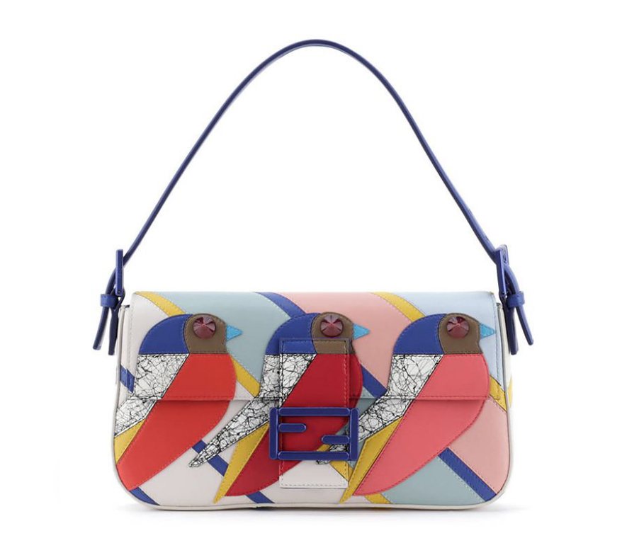 Fendi Triple Bird Baguette