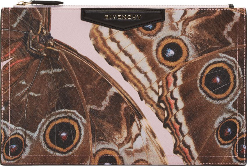 Givenchy Butterfly Zip Pouch