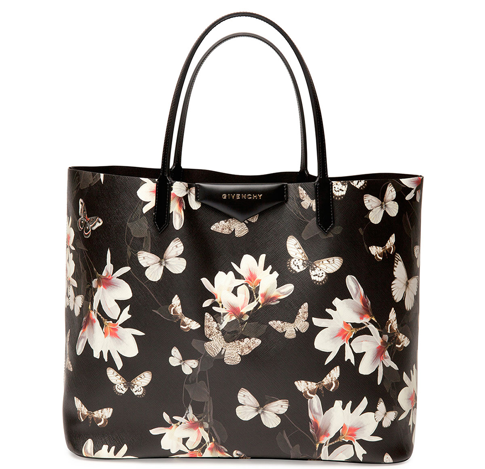 fe1008784e Givenchy Introduces Magnolia-Print Floral Bags for Resort 2015 ...