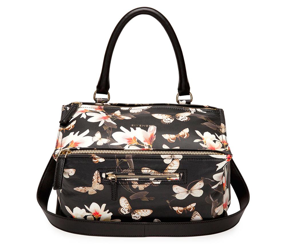 Givenchy Magnolia Print Floral Pandora Bag