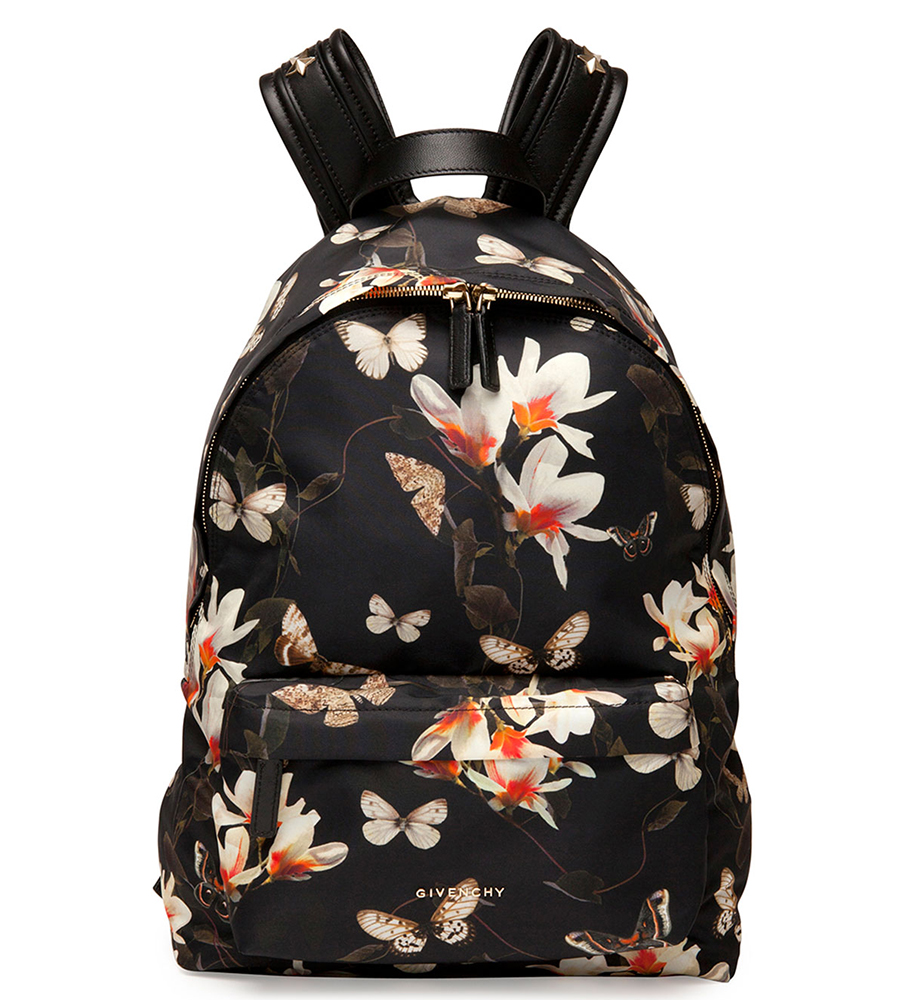 Givenchy Magnolia Print Nylon Backpack