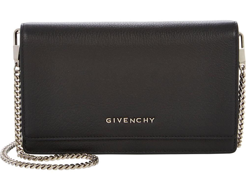 Givenchy Pandora Chain-Strap Wallet