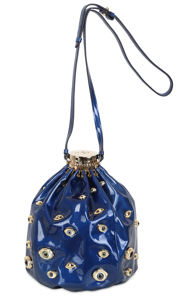Ines Figaredo Eyes Bucket Bag
