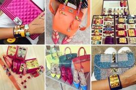 Instagram Handbag Celebrity: @hermeslover777