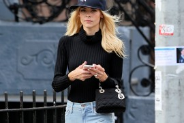 Jaime King Hops on the Dior Handbag Bandwagon