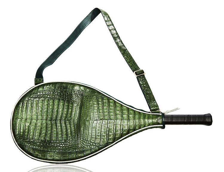 Jill Haber Roger Crocodile Tennis Racket Cover