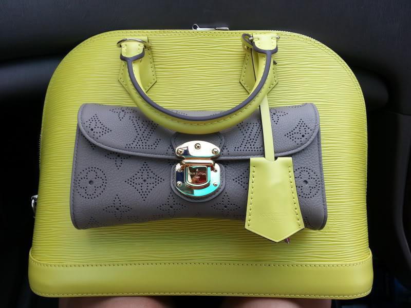 Louis Vuitton Epi Alma and Wallet
