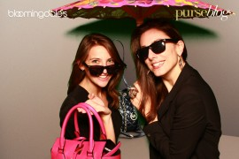 Check Out the Photo Booth from Our National Handbag Party at Bloomingdale's!