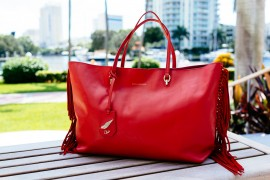 National Handbag Day Spotlight: The Diane von Furstenberg Large Sutra Ready to Go Fringe Tote
