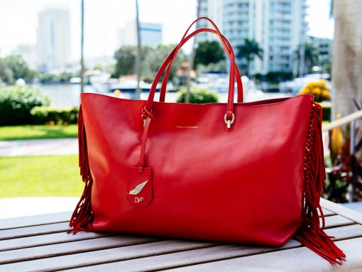 National Handbag Day Spotlight: The Diane von Furstenberg Large Sutra Ready to Go Fringe Tote