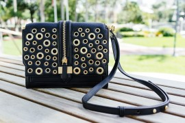 National Handbag Day Spotlight: Rebecca Minkoff Waverly Eyelet Studs Crossbody