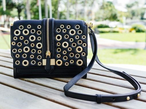 National Handbag Day Spotlight: Rebecca Minkoff Waverly Eyelet Studs Crossbody