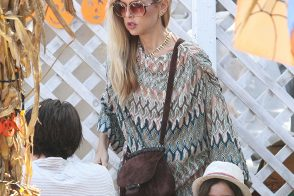 Rachel Zoe Picks Pumpkins with Her Kids and a Gucci Bag