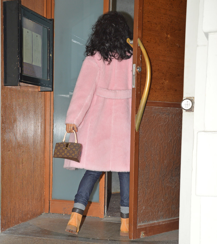 Rihanna Louis Vuitton x Frank Gehry Twisted Box Monogram Bag-3