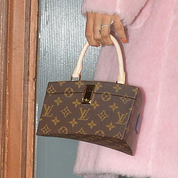 Rihanna Louis Vuitton x Frank Gehry Twisted Box Monogram Bag-4