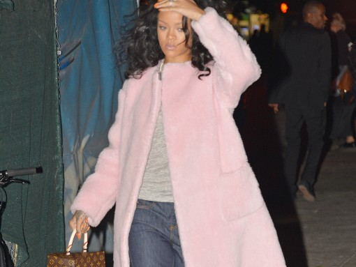 Rihanna Louis Vuitton x Frank Gehry Twisted Box Monogram Bag