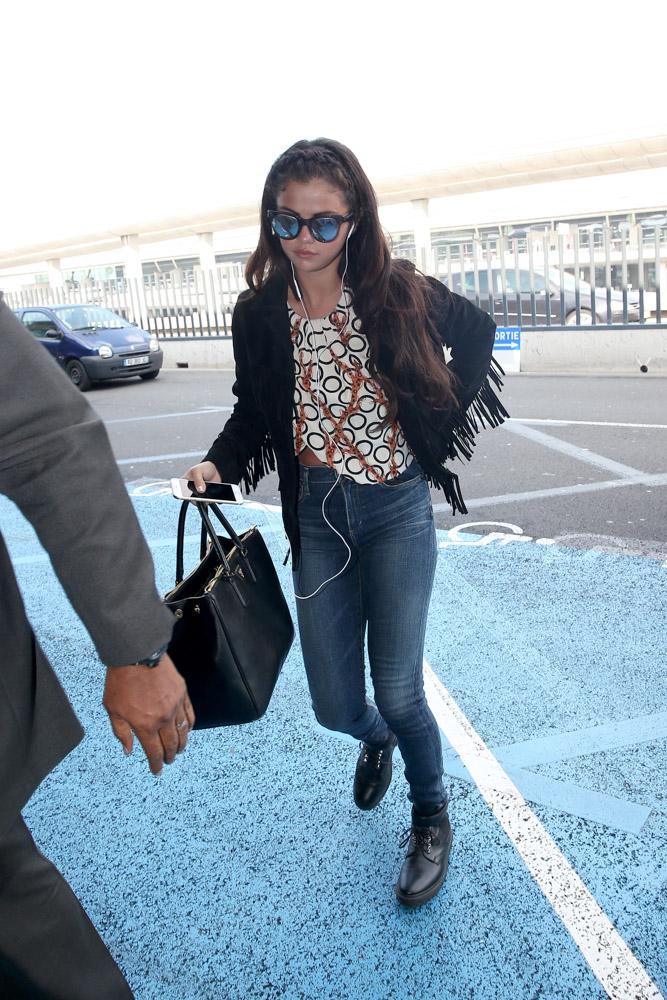 Selena Gomez Prada Saffiano Double Zip Executive Tote-1