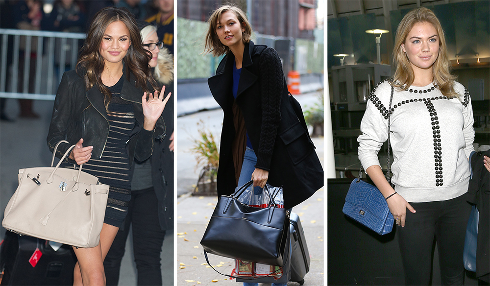 The Many Bags of Supermodels