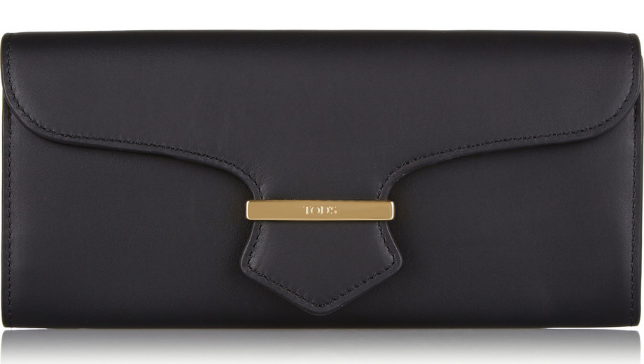 Tod's Continental Leather Wallet