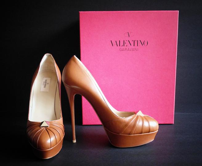 Valentino Platform Pumps