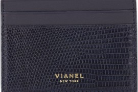 Man Bag Monday: The Vianel Lizard V4 Card Case