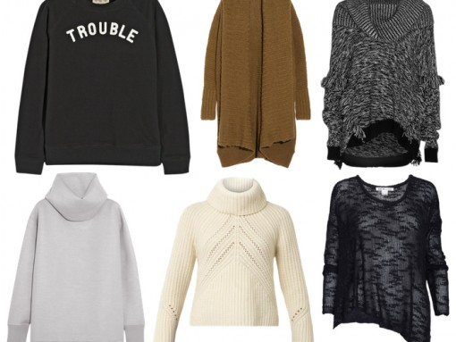 Want It Wednesday: Warm Fall Sweaters and Sweatshirts
