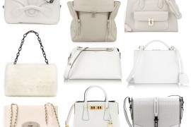Color Story: 15 Bags in Lovely Winter White