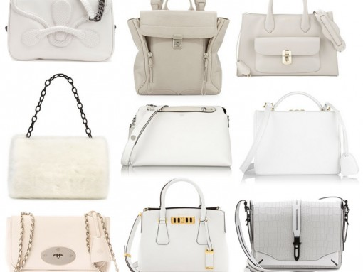 Winter White Bags