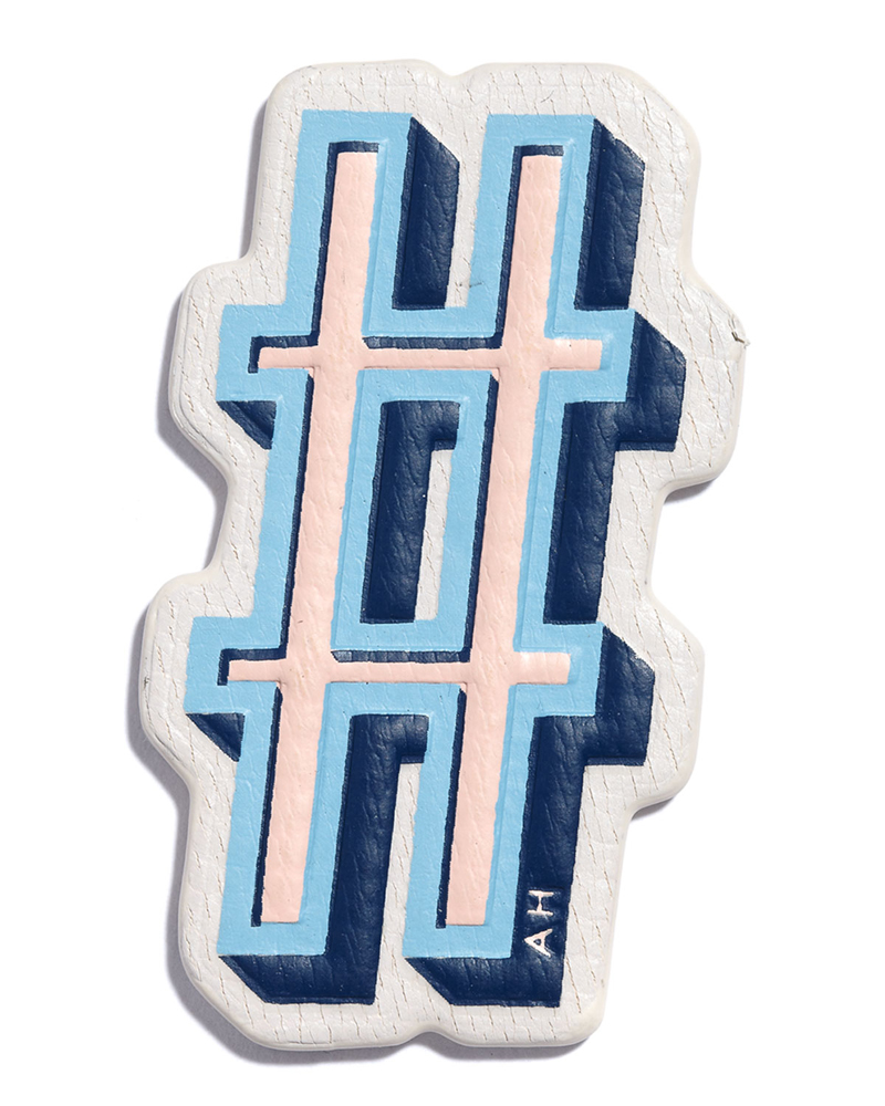 Anya Hindmarch Hashtag Sticker
