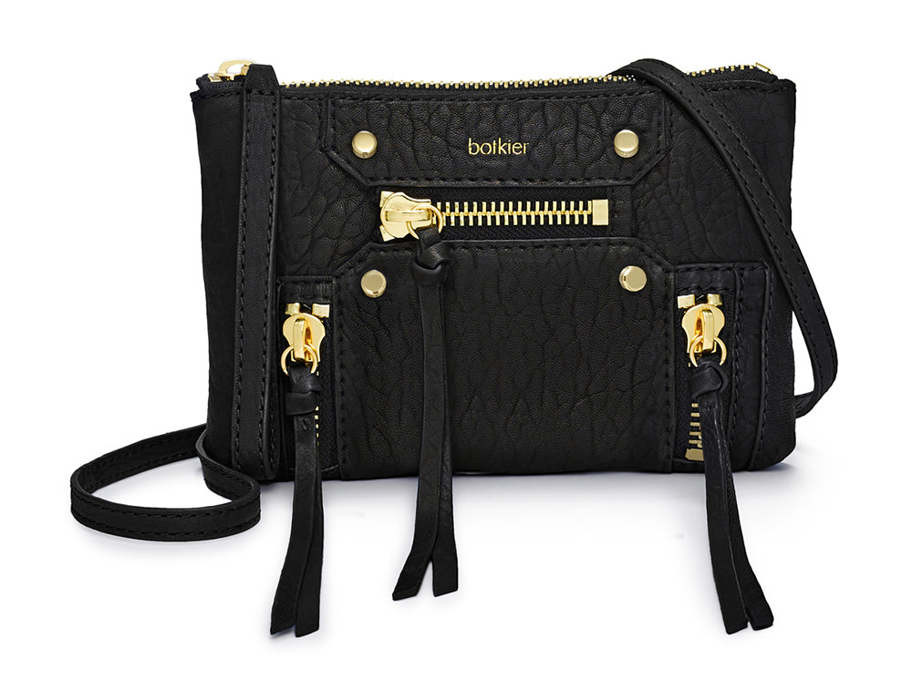 Botkier Logan Crossbody Wristlet Black