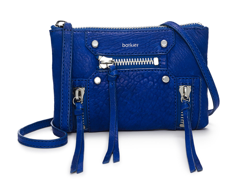 Botkier Logan Crossbody Wristlet Blue