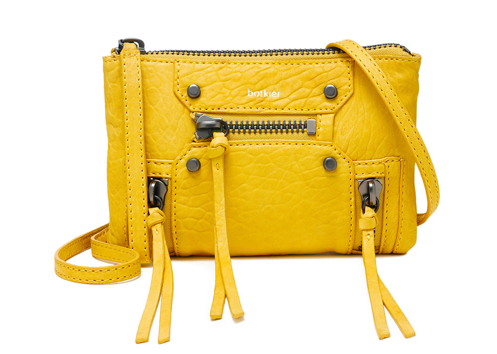 Botkier Logan Crossbody Wristlet Yellow