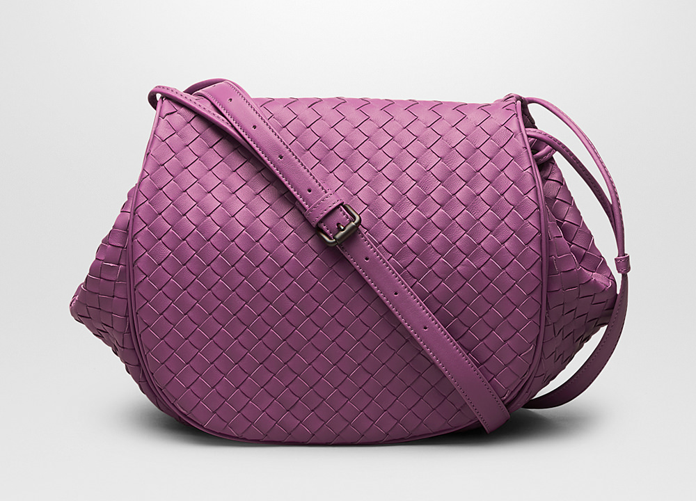 Bottega Veneta Monalisa Intrecciato Flap Messenger - PurseBlog 476d73a217add