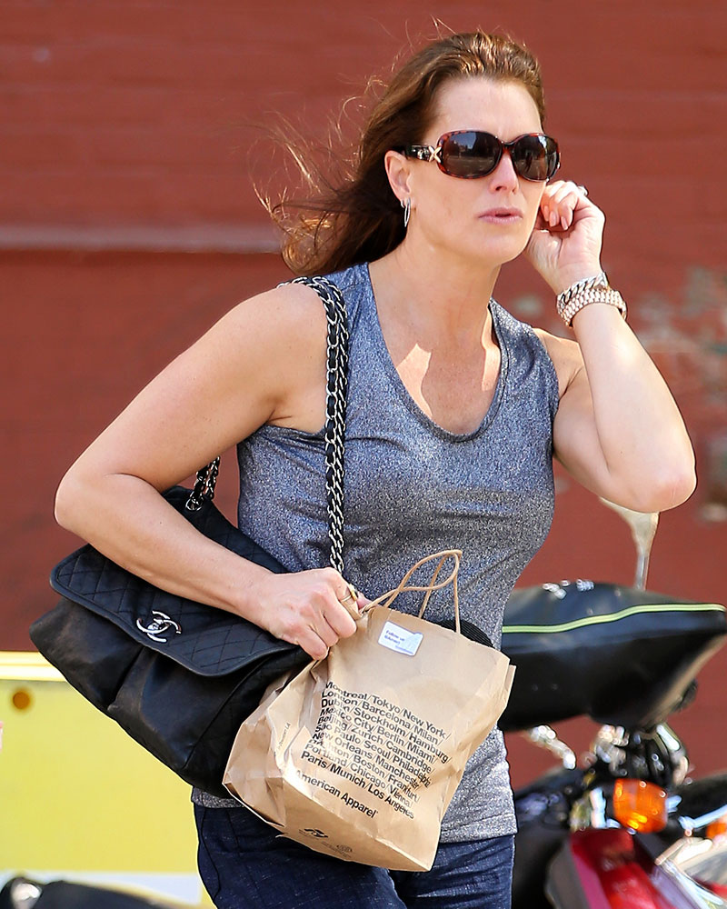 Brooke-Shields-Chanel-Shoulder-Bag