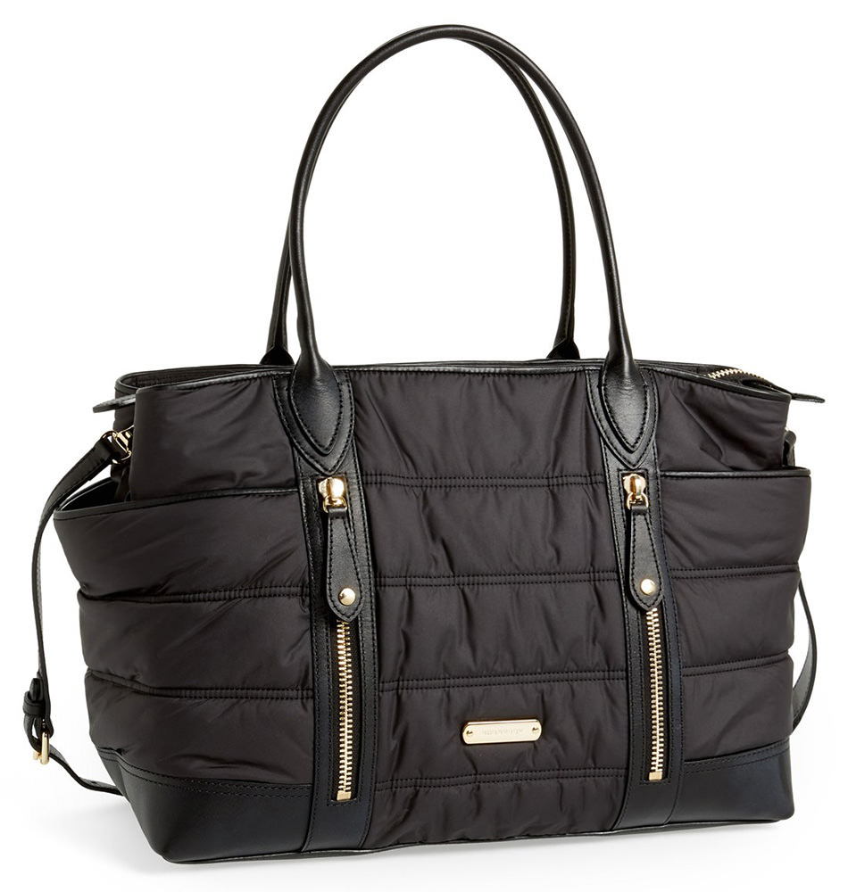 Burberry Channel Quilted Diaper Bag
