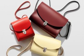 Cambridge Satchel Company Introduces Ladylike Pushlock Line