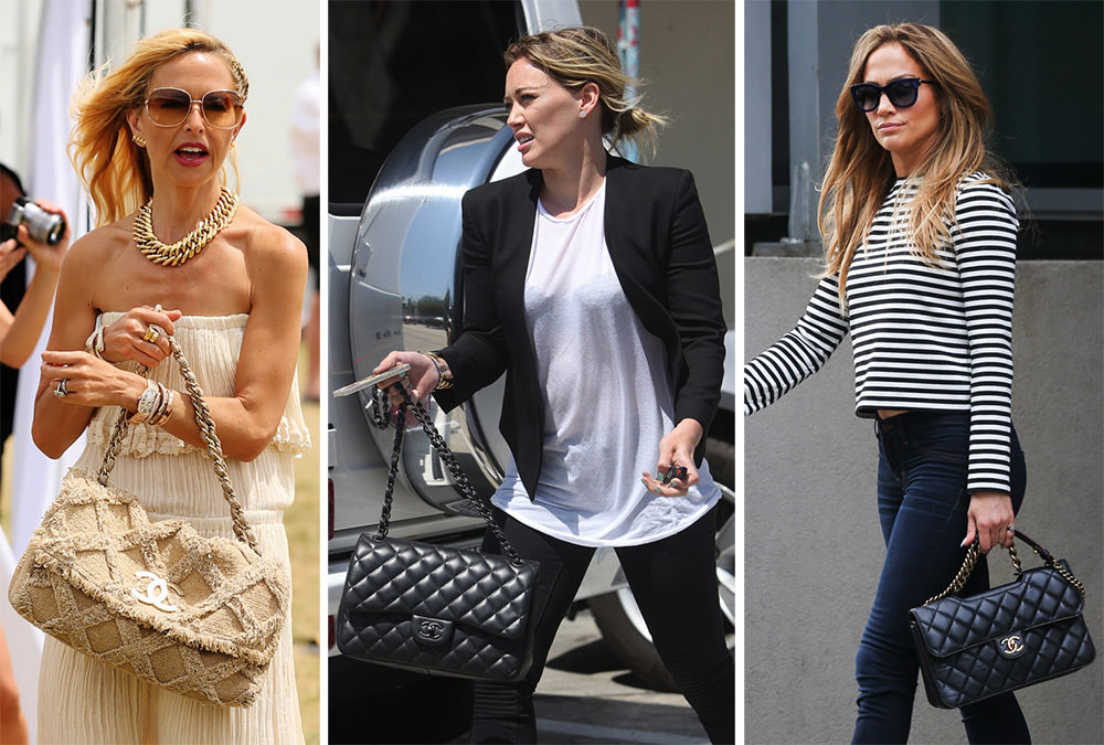 d154dc4db977 50 More Photos That Prove Chanel Bags are the Reigning Celebrity Favorites