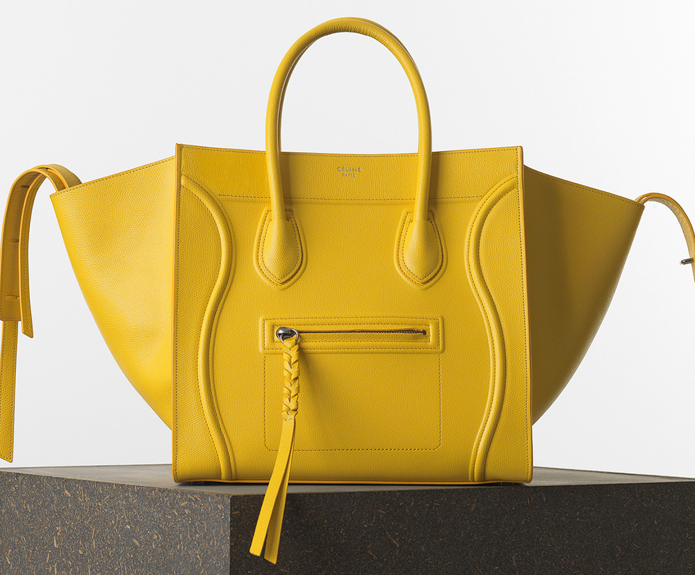 06be215f7541 The Ultimate Bag Guide: The Céline Luggage Tote - PurseBlog
