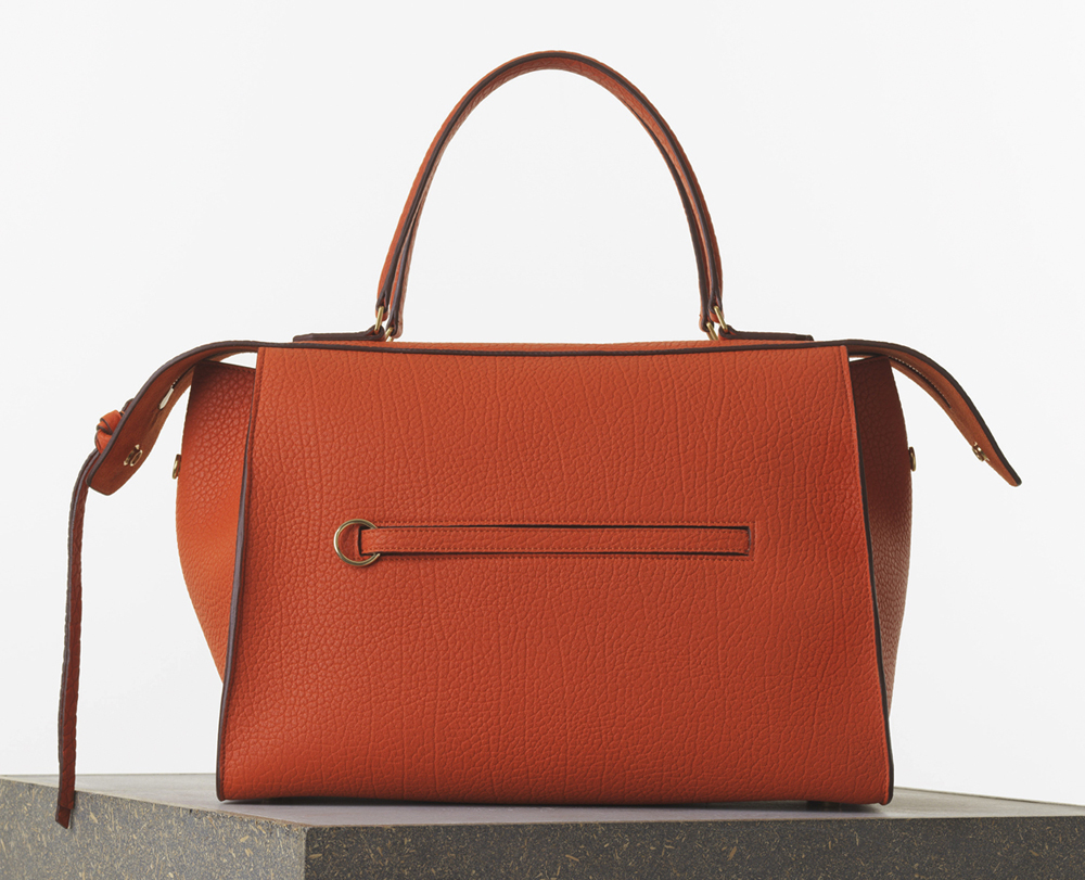 Celine Medium Ring Bag Burnt Orange Bullhide Calf 2850