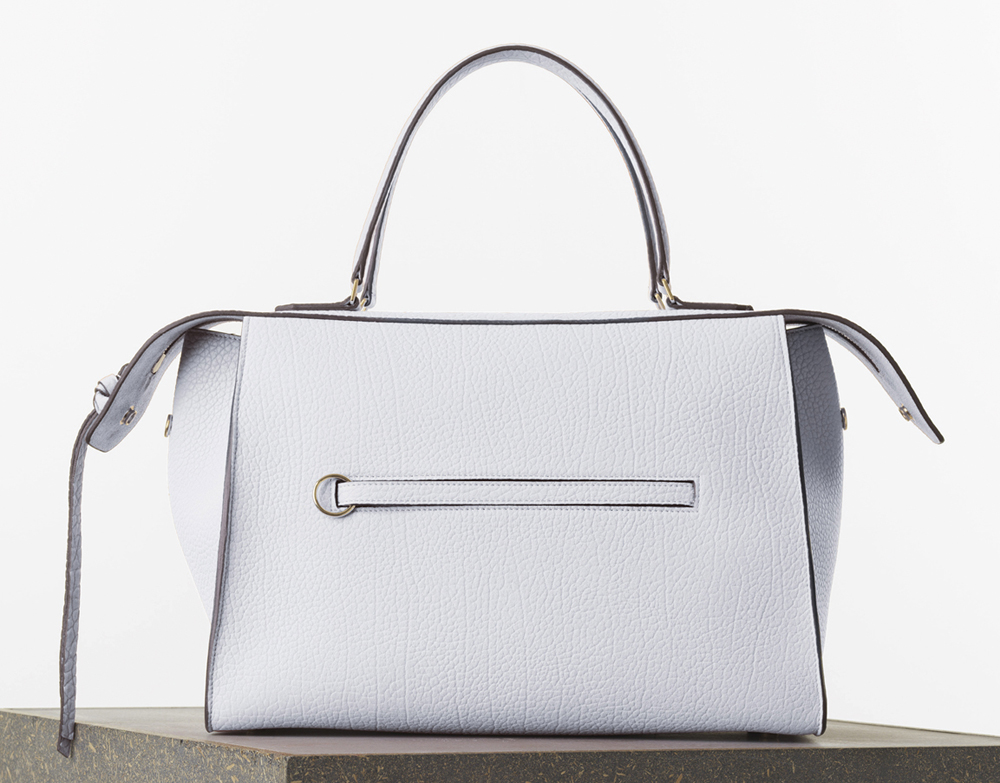 Celine Medium Ring Bag White Bullhide Calf 2850
