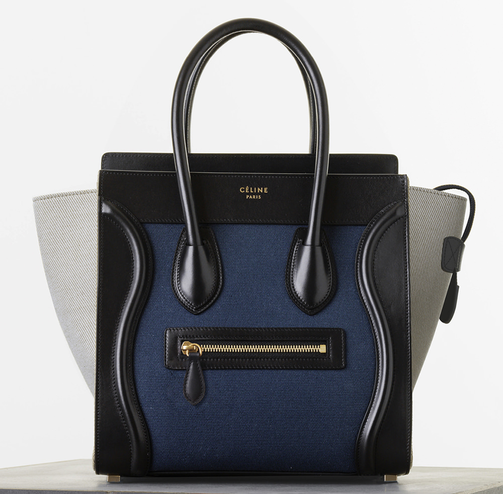 The Ultimate Bag Guide  The Céline Luggage Tote - PurseBlog 623104d8ba6dc