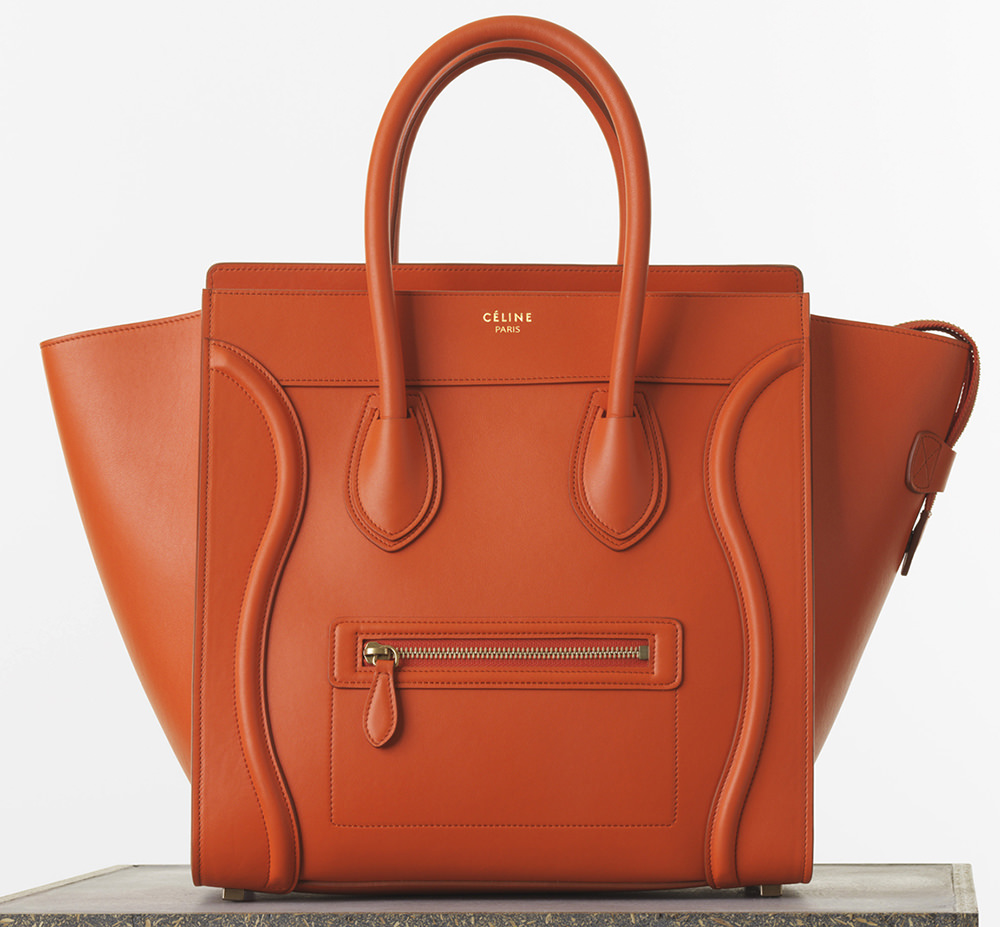 ea28fe179a The Ultimate Bag Guide  The Céline Luggage Tote - PurseBlog