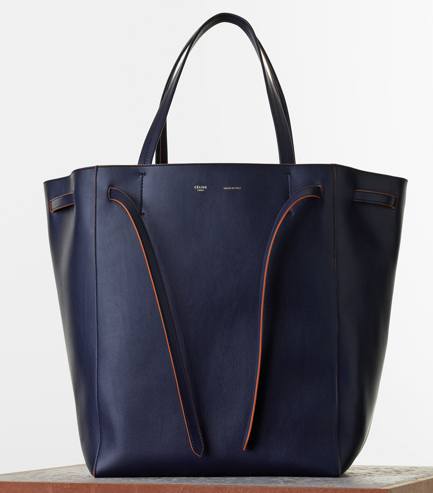 celine cabas phantom leather tote